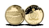 2021. aasta Rally Estoniale pühendatud kuldmünt