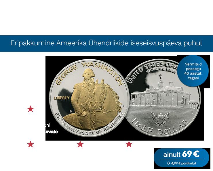 """Münt """"George Washington"""""""