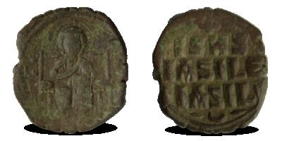 Jeesuse kujutisega autentne münt