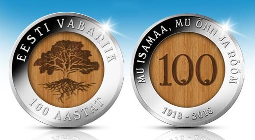 Eesti Mündiäri kingib eestlastele 25 000 tammesüdamikuga juubelimedalit
