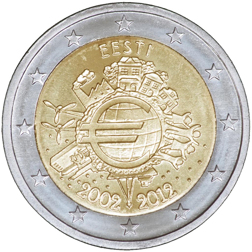 Eestisse jõudis nõutud 2-euroste mälestusmüntide kollektsioon