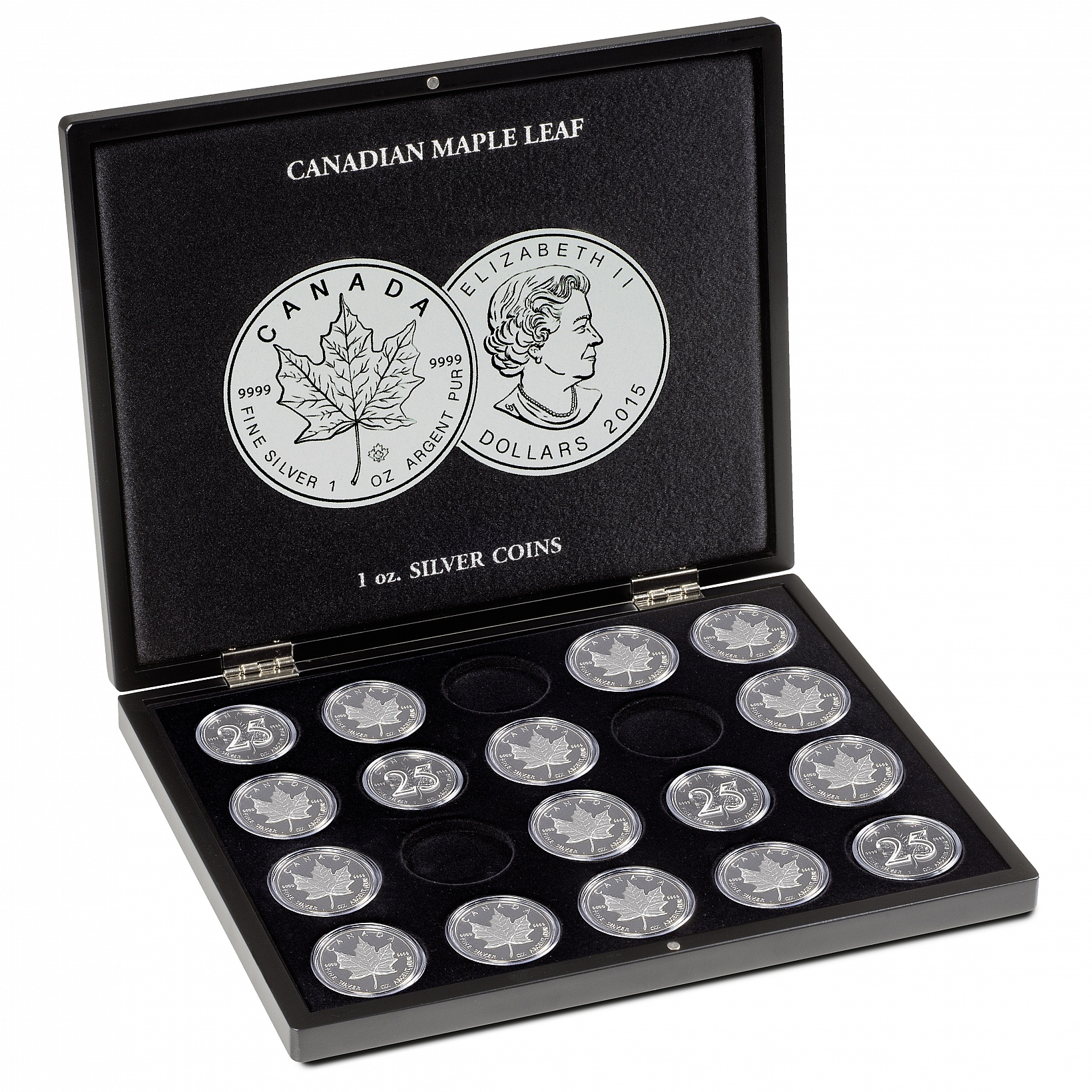 presentation-case-for-20-silver-maple-leaf-coins-1-oz-in-capsules-black