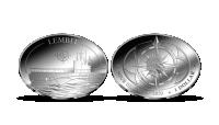 Allveelaev Lembitule pühendatud hõbemünt