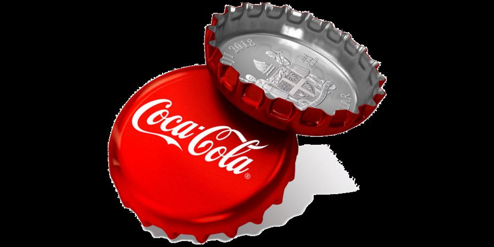 "Hõbemünt ""Coca Cola® pudelikork"""