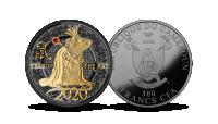 """Puhtast hõbedast münt """"Roti aasta"""""""