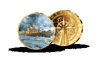"""Kollektsiooni """"Eesti ajaloolised laevad"""", medal """"Suur Tõll"""""""