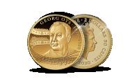 Kuldmünt Georg Otsa 100. sünniaastapäeva auks