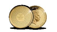 """Kuldmünt """"Tartu rahulepingu 100. aastapäev"""""""