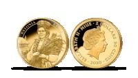 """Kuldmünt """"Eestimaa kaunis naine"""" (0,5 g)"""