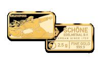 """Kuldplaat """"Kalevipoeg"""" 2.5g"""
