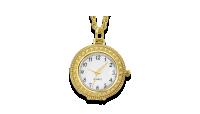 Kullatud kaelaehe – luubiga kell