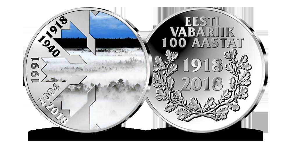 Eesti iseseisvuse 100. aastapäevale pühendatud medal
