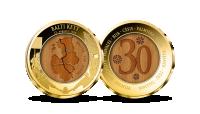 """Kullatud medal """"Balti keti 30. aastapäev"""""""
