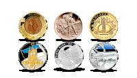 """Komplekt """"Kümnendi kõige olulisemad medalid"""" 2021"""