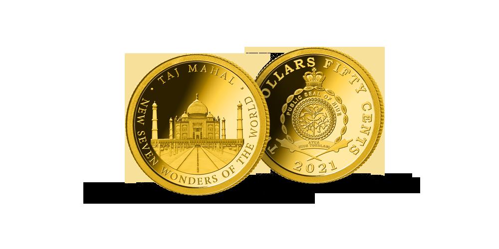 """Puhtast kullast müntide kollektsioon """"Seitse uut maailmaimet"""""""