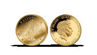 """Puhtast kullast müntide kollektsioon """"Eestimaa sümbolid"""""""