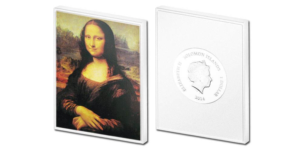 """Kollektsioon - """"Muuseumi kollektsioon"""", esimene münt - """"Mona Lisa"""""""