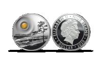 """Puhtast hõbedast münt """"Balti merevaik"""""""