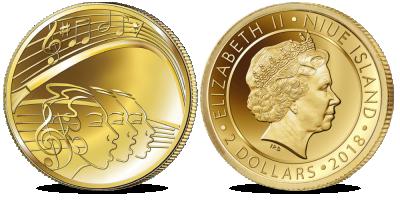 """Puhtast kullast münt """"Laulupidu"""""""