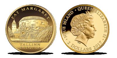 """Puhtast kullast münt """"Paks Margareeta"""""""