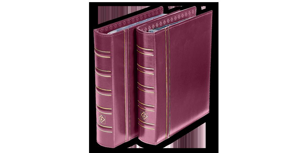 Punane OPTIMA klassikaline mündialbum ilma kandetaskuta