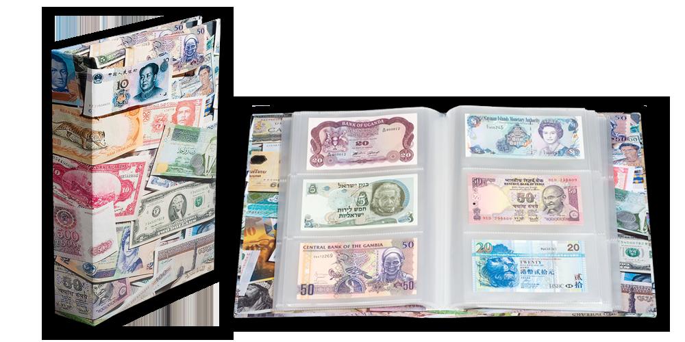 Rahatähtedega album (300 paberrahale)