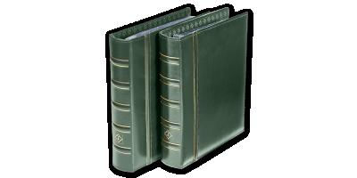 Roheline OPTIMA klassikaline mündialbum ilma kandetaskuta