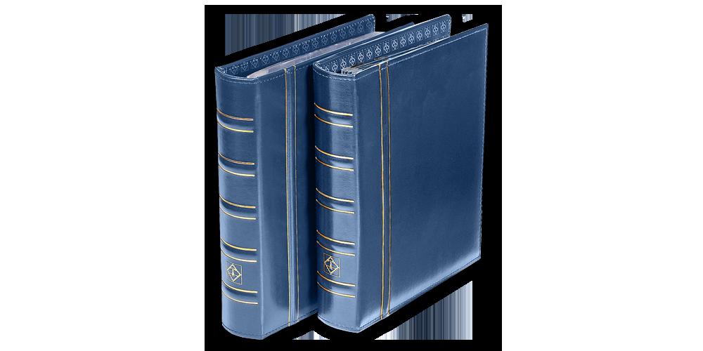 Sinine OPTIMA klassikaline mündialbum ilma kandetaskuta