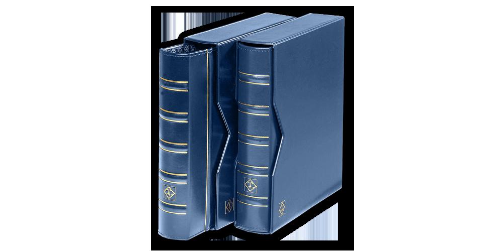 Sinine OPTIMA klassikaline mündialbum kandetaskuga