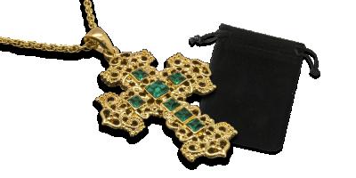 Swarovski kristallidega kaunistatud rist