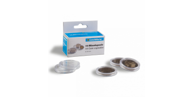 Ümmarguste mündikapslite pakid CAPS: läbimõõduga kuni 33 mm