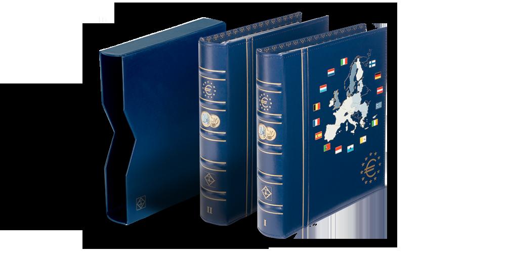 VISTA euromüntide albumid: 2 albumit komplektis